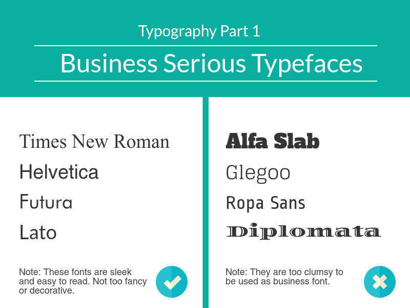 Best Typeface for Official Use