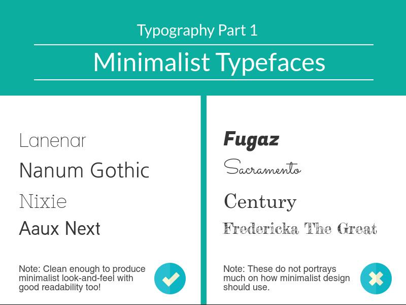Minimalist Typeface
