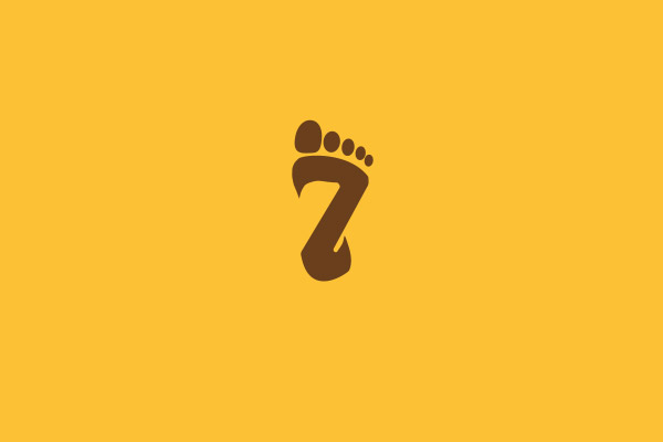 Foot With A Z Initial Logo