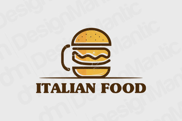 Italian Restaurant Logo 20
