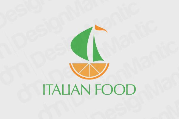 Italian Restaurant Logo 8