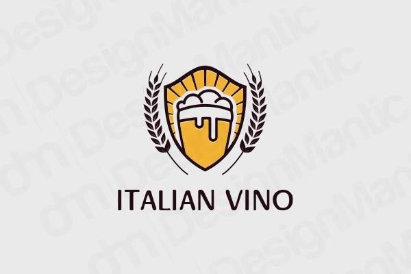 Italian Vino Logo