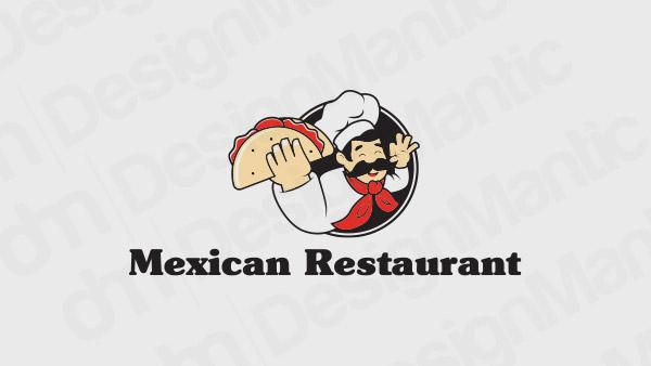 Mexican Restaurant Logo 12