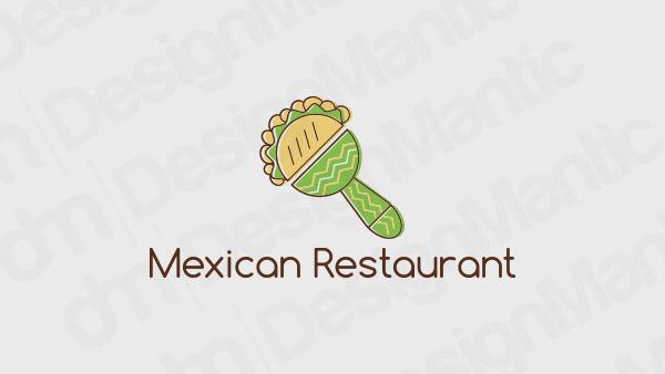 Mexican Restaurant Logo 13