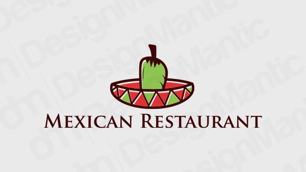 Mexican Restaurant Logo 14