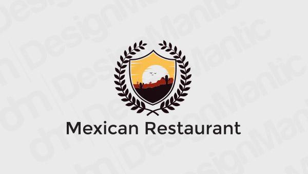 Mexican Restaurant Logo 3