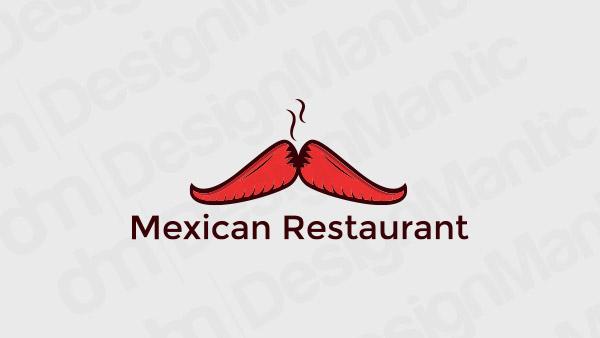 Mexican Restaurant Logo 6