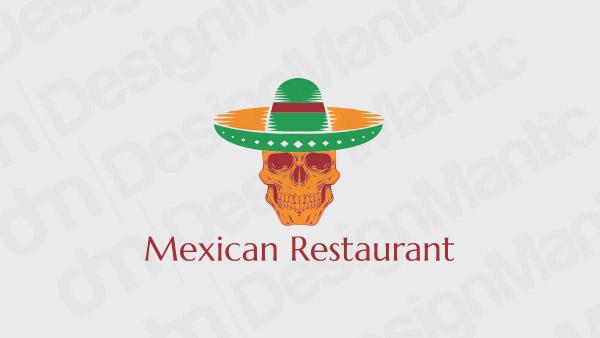 Mexican Restaurant Logo 8