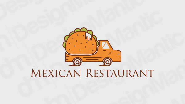 Mexican Restaurant Logo 9