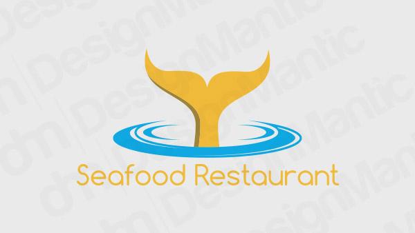 Seafood Restaurant Logo 11