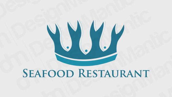 Seafood Restaurant Logo 12