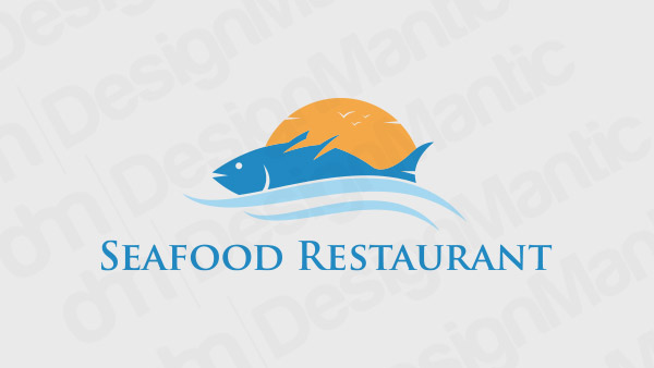 Seafood Restaurant Logo 13