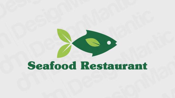 Seafood Restaurant Logo 14