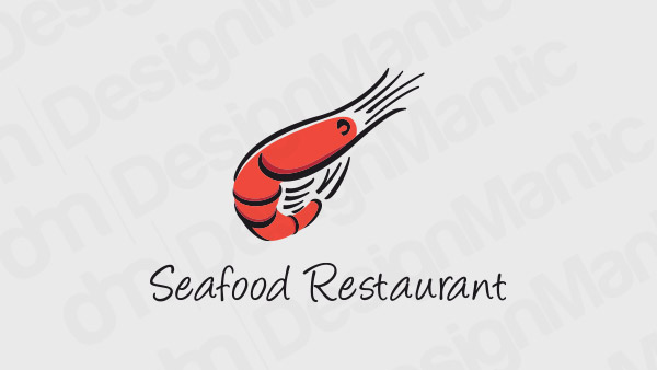 Seafood Restaurant Logo 15