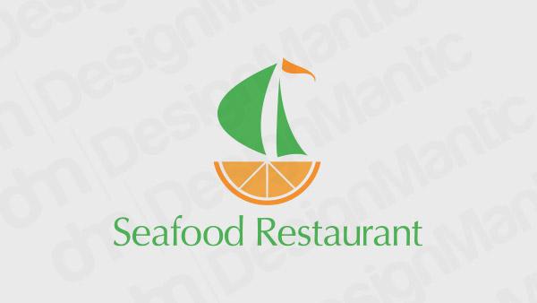 Seafood Restaurant Logo 16
