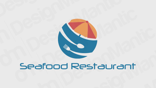Seafood Restaurant Logo 17
