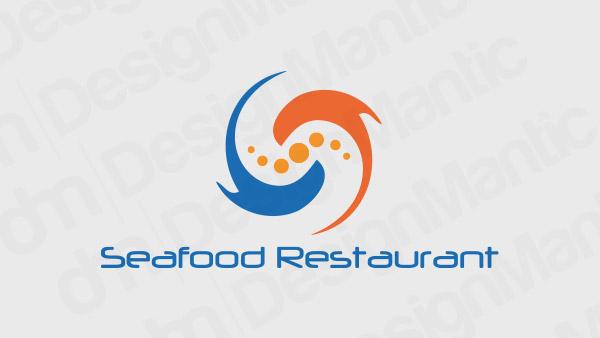 Seafood Restaurant Logo 5