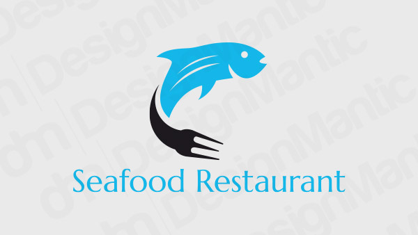 Seafood Restaurant Logo 6