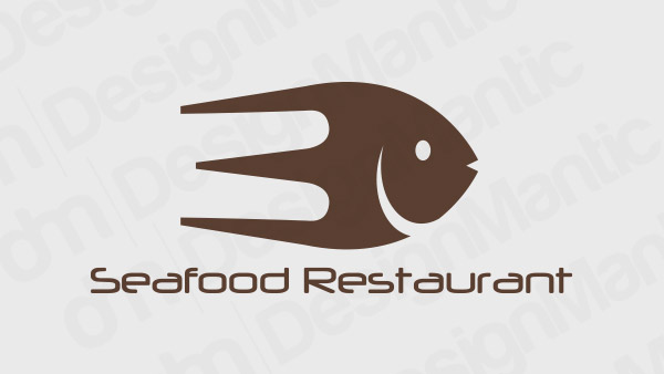 Seafood Restaurant Logo 7