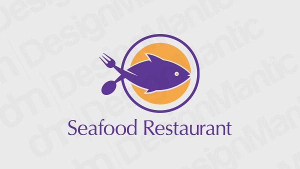Seafood Restaurant Logo 9