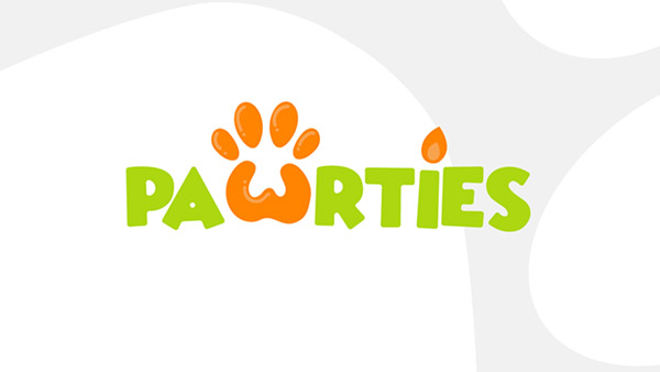 Pawrties Logo