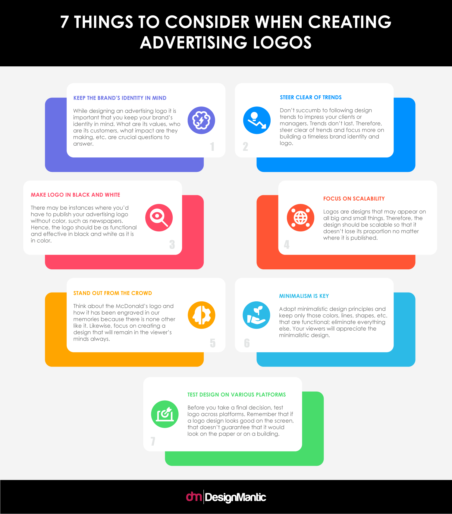7 Considerations For Advertising Logos