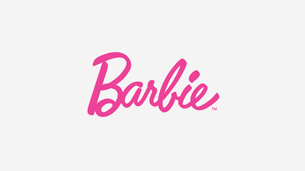 Barbie-pink logo