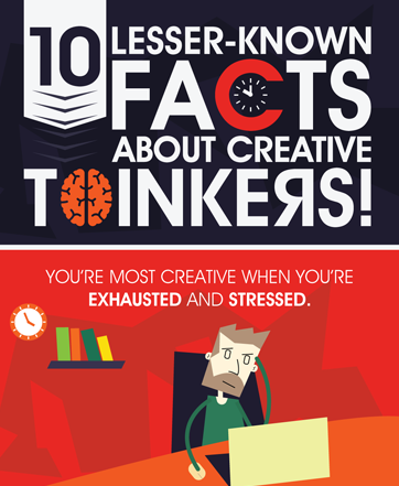 10 facts about creative thinkers