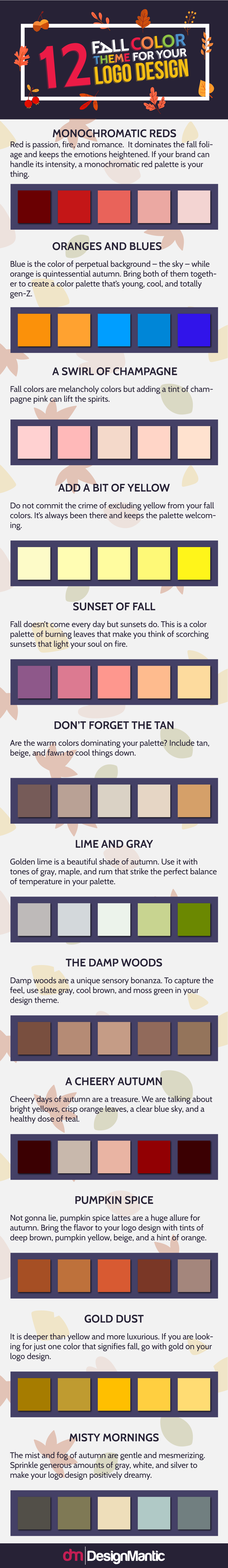 Color Themes for Your Logo Design