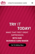 Business Card Maker App
