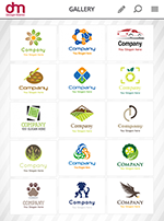 Select Logo Design from App