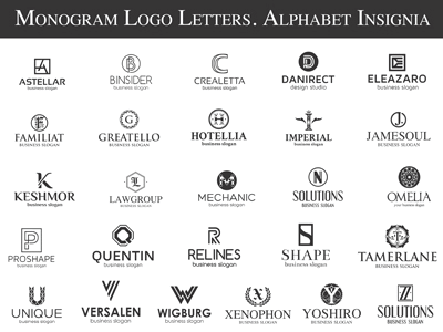 How To Create A Monogram Logo Design For Your Business