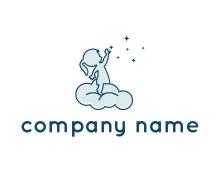 child care logo generator