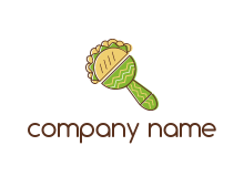free tortille fast food logo template