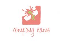 Flower Vector Logos Event Management Flower Shop Logo Creator