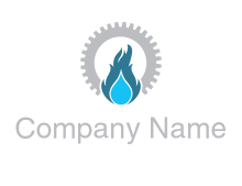 gas station logo image