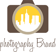 skyscrapers in camera lens photography logo