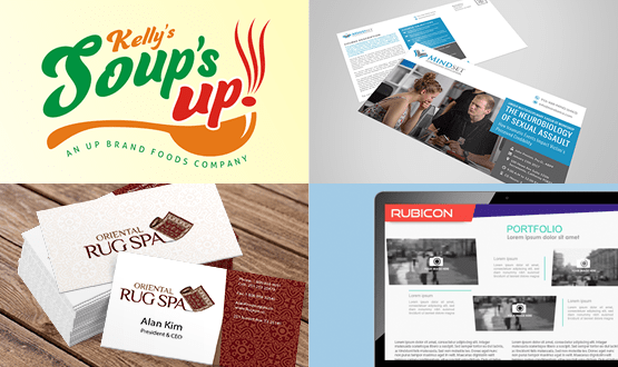graphic design services including logos, business cards, web sites and brochures