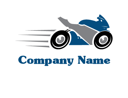motorcycle silhouette logo
