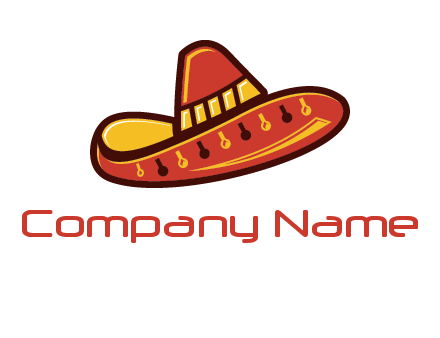 cowboy hat food logo