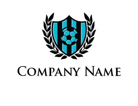 shield in football team logo