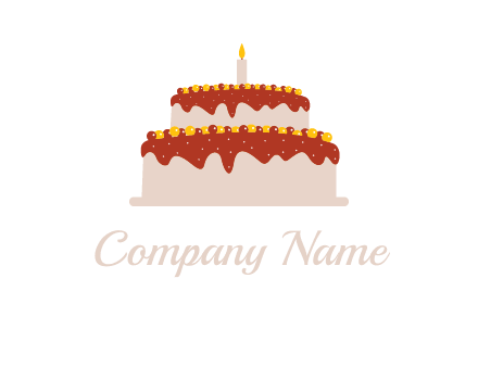 double layer cake logo