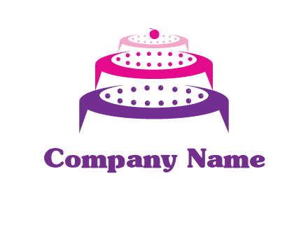 multi level cake logo