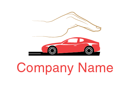 hand over car insurance logo
