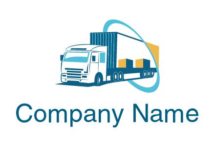Free Transport Logos, Automobile, Airplane, Truck, Car Logo Creator