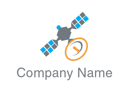 satellite information technology logo