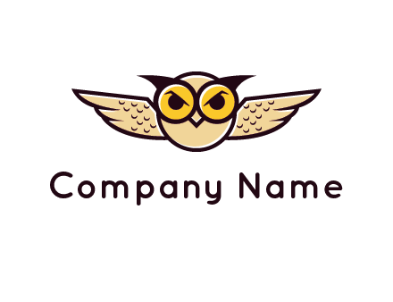 winged owl logo