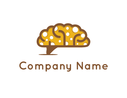 brain cheese logo