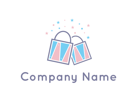 gift or shopping bags logo