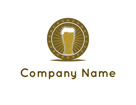 local town pub logo design